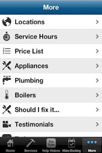 Appliance Repairs- screenshot thumbnail