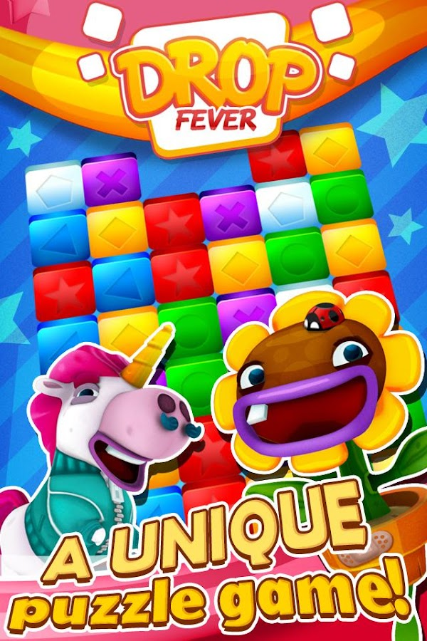 Drop Fever - League of puzzle!- screenshot