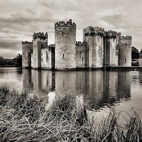 Bodiam Castle 9 by Dean Thorpe - Buildings & Architecture Public & Historical (  )