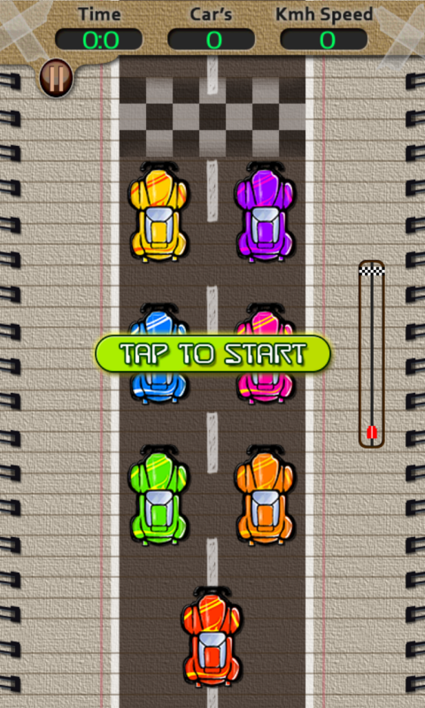 Speed Racing Game- screenshot