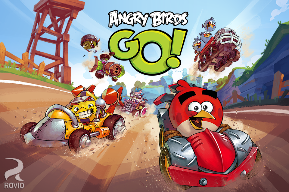 Angry Birds Go! - screenshot