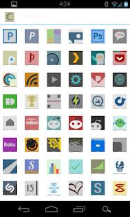 Cardstock -nova apex adw theme - screenshot thumbnail