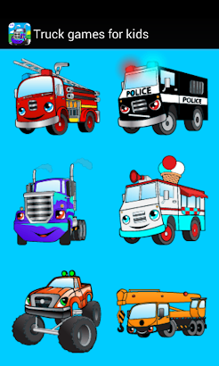 Car truck games for kids free- screenshot thumbnail