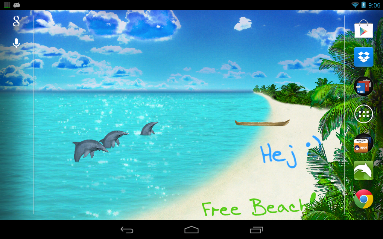 Beach Live Wallpaper Pro - screenshot
