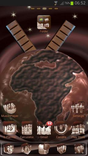 Chocolate GO Launcher EX Theme