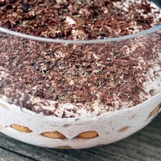 Fig & Cardamom Spiced Tiramisu.