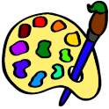 Paint Bucket Coloring logo