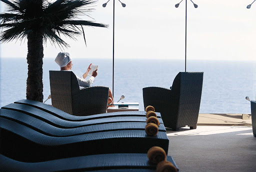 MSC-Opera-spa-2 - The Aurea Spa aboard MSC Opera blends Balinese massage with traditional therapeutic water treatments passed down from Roman times.