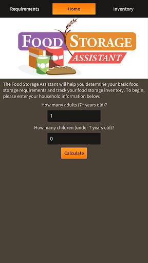 Food Storage Assistant