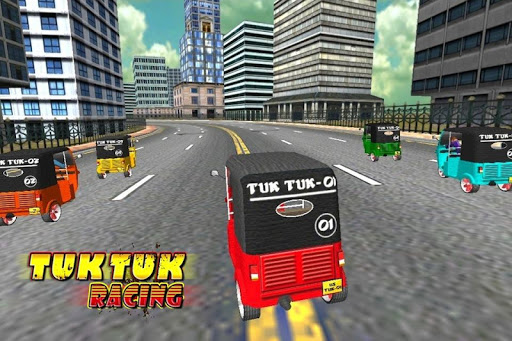 Tuk Tuk Racing Rikshaw Game
