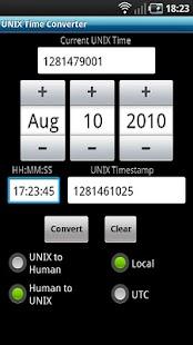 UNIX Time Converter- screenshot thumbnail