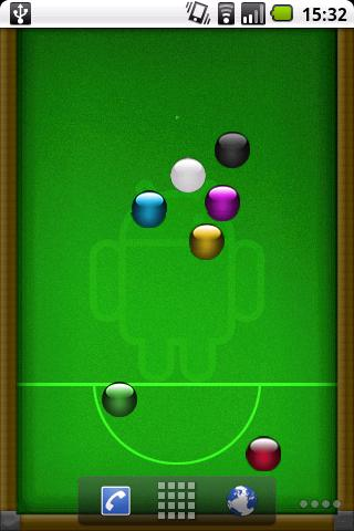 Billiards Live Wallpaper- screenshot