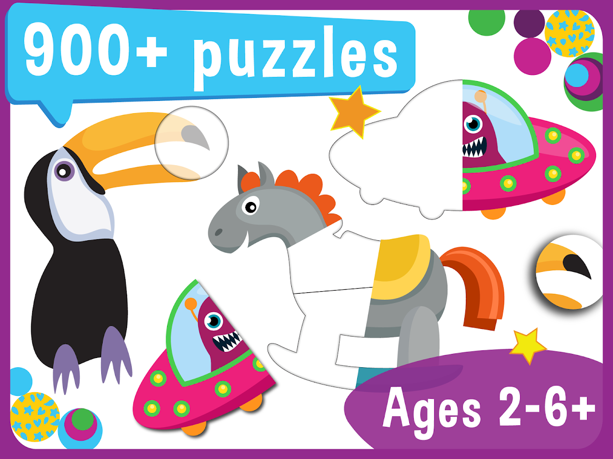 Pooza - FREE Puzzles for Kids- screenshot
