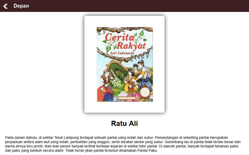 Contoh Cerita Rakyat Lampung Hallow Keep Arts Download Gambar Online