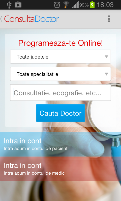 ConsultaDoctor - screenshot