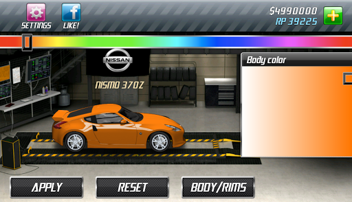 Drag Racing v1.6.31 APK (Mod) screen shot 3