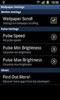 Screenshot of Glow Pulse Live Wallpaper