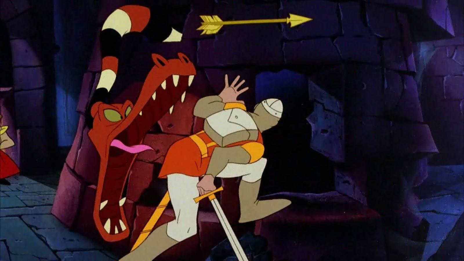 Dragon's Lair 2: Time Warp - screenshot