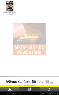 Metalcasting Newsstand- screenshot thumbnail