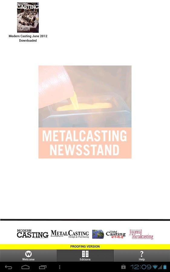 Metalcasting Newsstand- screenshot