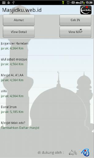 Masjidku Lokasi Masjid Kita