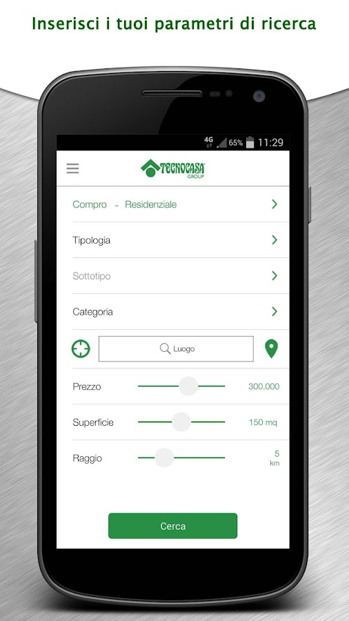 Tecnocasa Group- screenshot