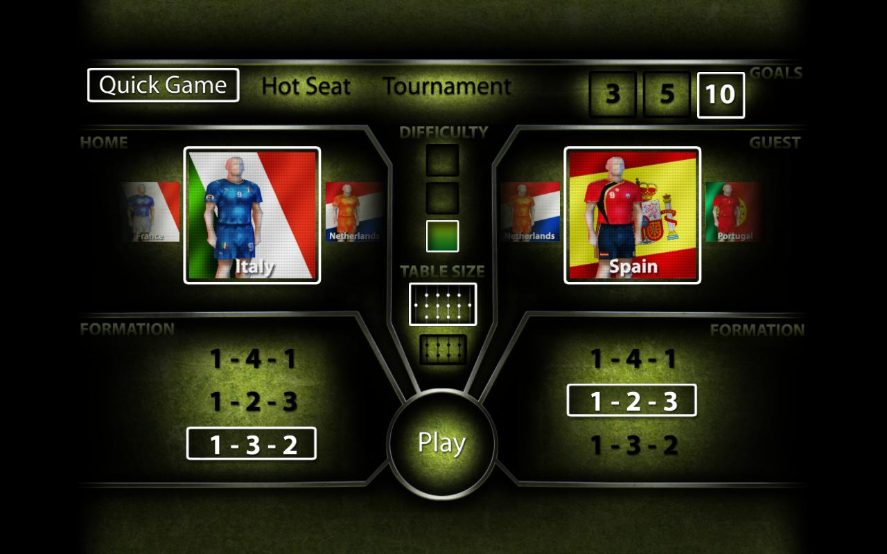 Foosball Cup- screenshot