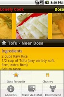 Screenshot of Dosa