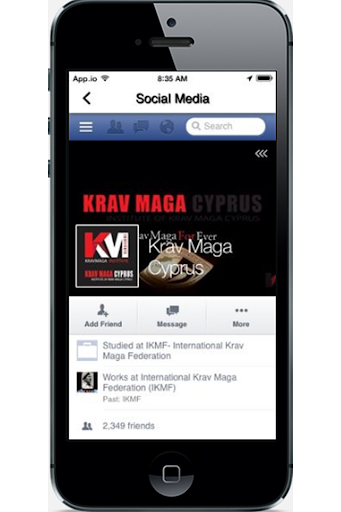 【免費健康App】Institute of Krav Maga Cyprus-APP點子