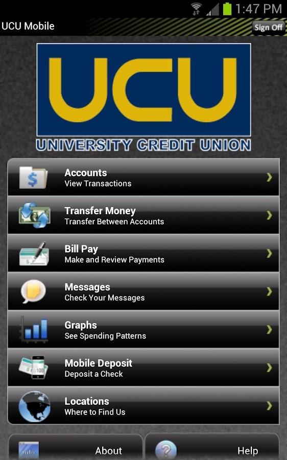 UCU Mobile Finance Manager - screenshot