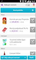 Screenshot of Kupi.cz
