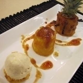 Trio of Pineapple Recipe