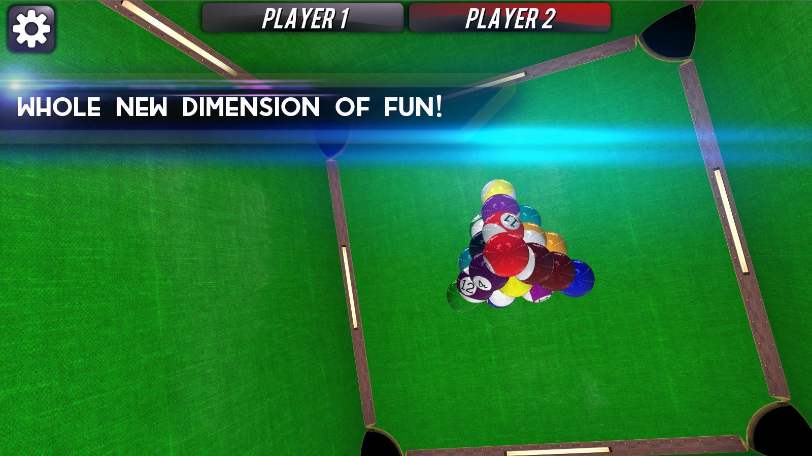 Space Pool 3D Pro - screenshot
