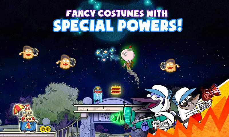 Ghost Toasters - Regular Show- screenshot