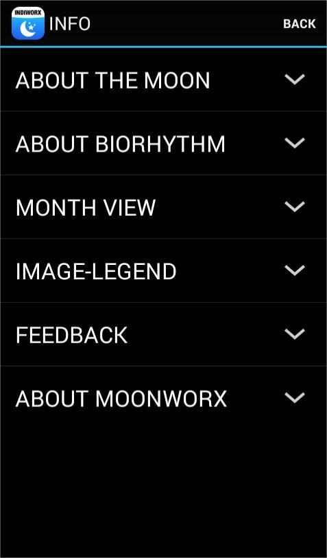 MoonWorx Lunar calendar LITE