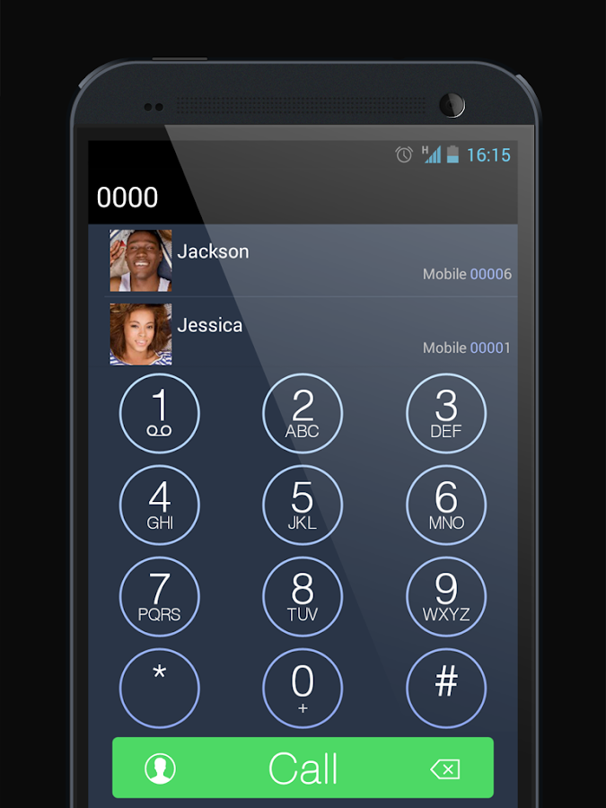 ExDialer 7 Dark Theme - screenshot