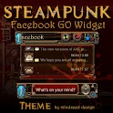 Steampunk Facebook GO Widget icon
