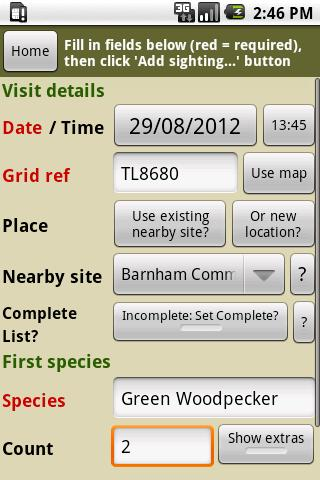 BirdTrack Legacy- screenshot