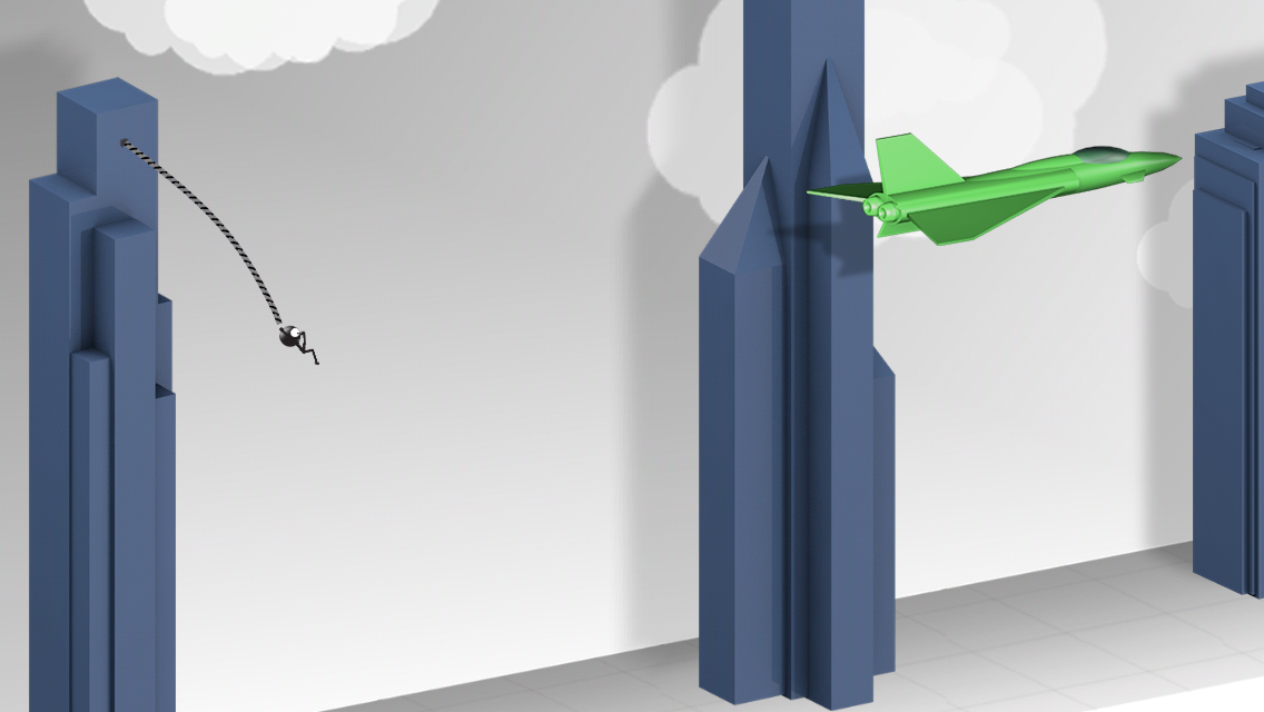Rope'n'Fly 4- screenshot