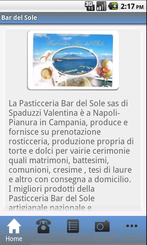 Bar del Sole- screenshot