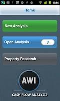 Screenshot of Real Estate Cash Flow Analysis