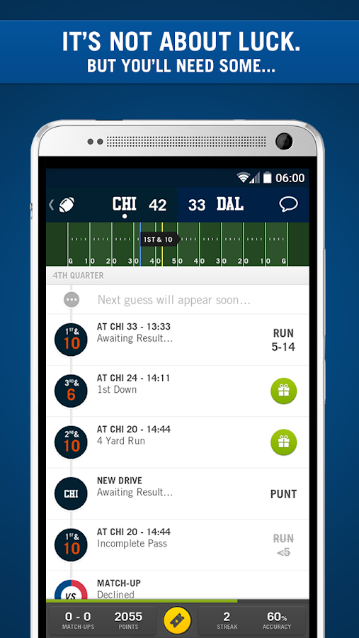 PrePlay Football - screenshot