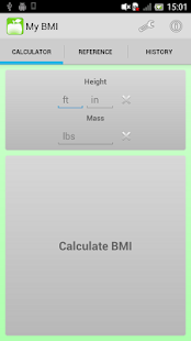 BMI Calculator and Tracker - screenshot thumbnail