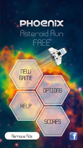 Phoenix Asteroid Run FREE
