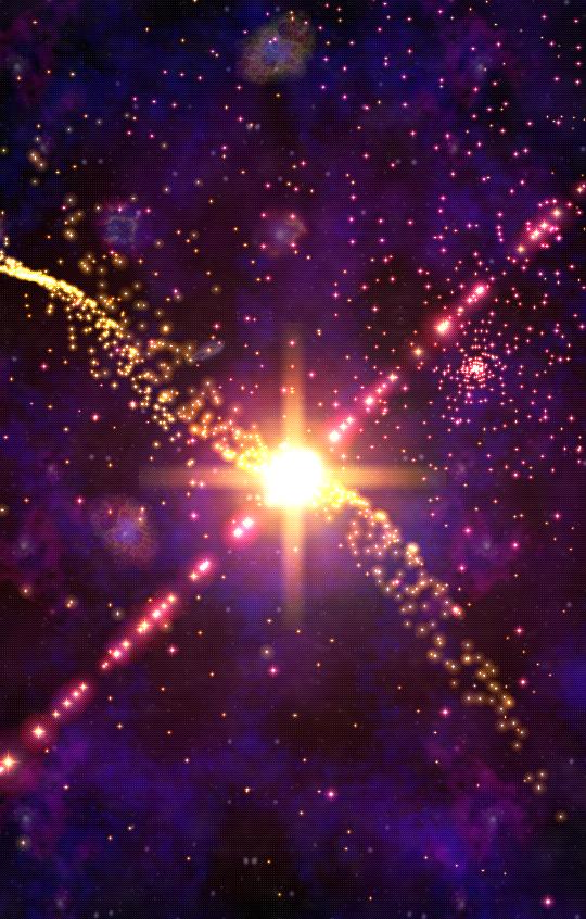 Cosmic Journey -Nebula LiveWP - screenshot