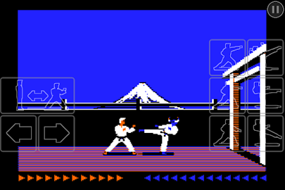 Karateka Classic Screenshot 1