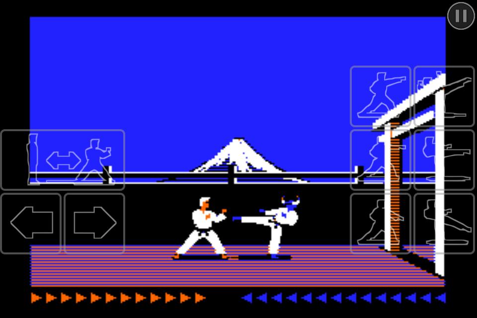 Karateka Classic screenshot #1