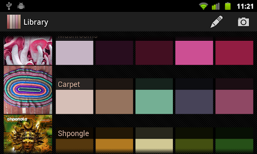 Real Colors, palette generator Screenshot 6