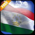 3D Tajikistan Flag LWP