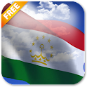 3D Tajikistan Flag LWP icon